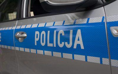 Policja wypadek Jawor