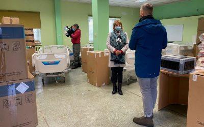 Łózka dla szpitala w Kłodzku