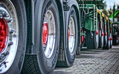 protest kierowców ciężarówek na A4