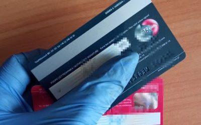 Policja karta kradzież
