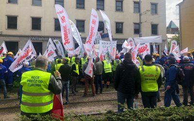 Wrocław Protest Dom Europy