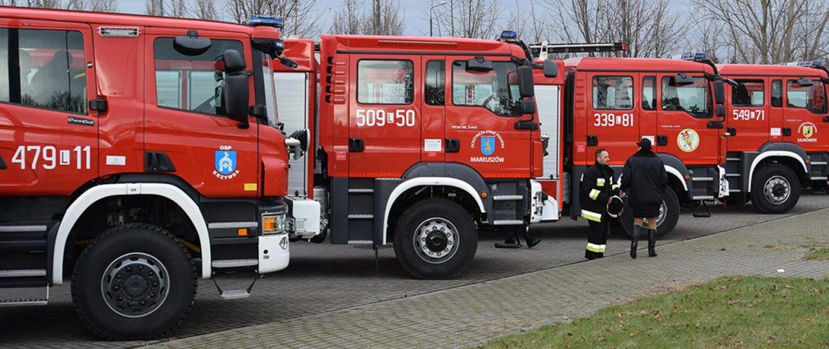 Nowe wozy strażackie trafią do dolnośląskich jednostek OSP